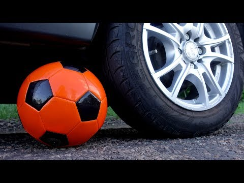 EXPERIMENT: CAR VS SOCCER BALL