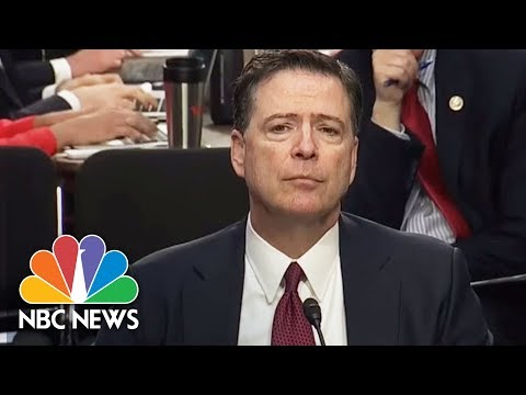 Richard Burr Asks James Comey: Was President Donald Trump Trying To Obstruct Justice? | NBC News