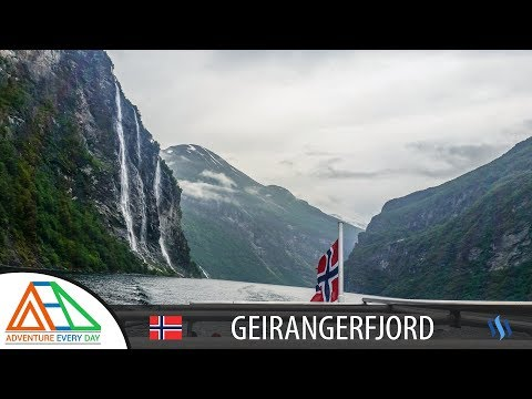 Geirangerfjord by Boat - Falls, farms and a frightening threat | Adventure Every Day