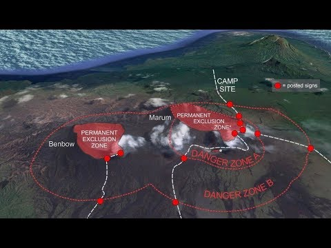 GSM  Update - Ambrym Erupting -Costa Rica & South Sudan Flooding - List of Erupting Volcanoes