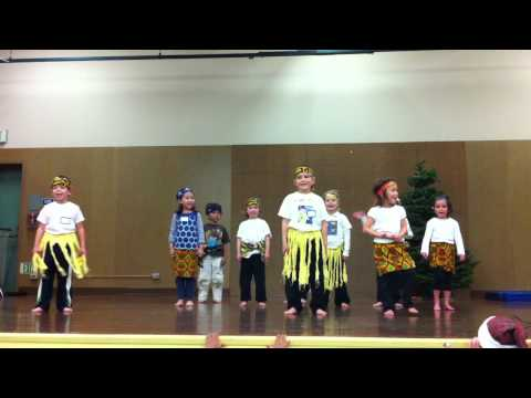 JMS Africa Dance Performance Kindergarten 12-15-11