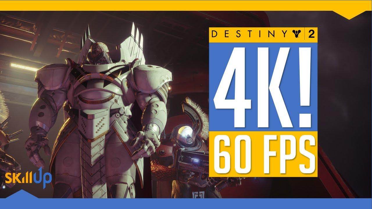 Destiny 2 | PC gameplay at 4k resolution, 60 FPS + impressions!