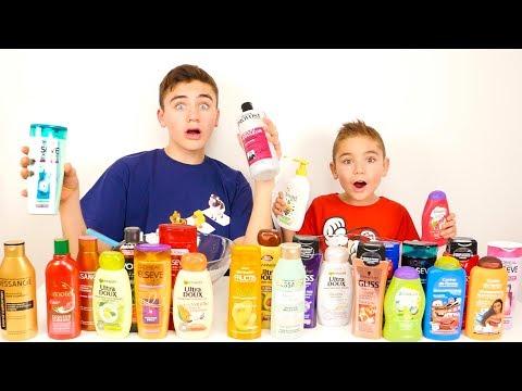 Don't Choose the Wrong Shampoo Slime Challenge !!!