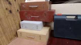 видео Металлические инструментальные ящики - Удобное место хранение инструмента на даче