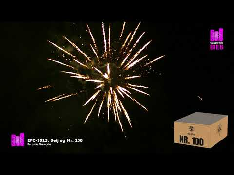 Beijing Nr.  100 - Eurostar Fireworks - vuurwerkbieb.nl