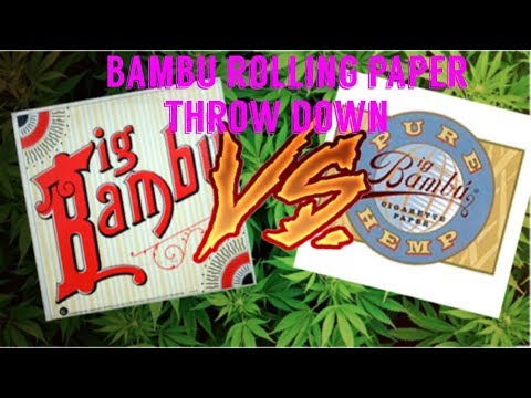 FULL MELT FUSION'S – BIG BAMBU CLASSIC & HEMP COMPARISON REVIEW & UNBOXING #RawLife #RawLife