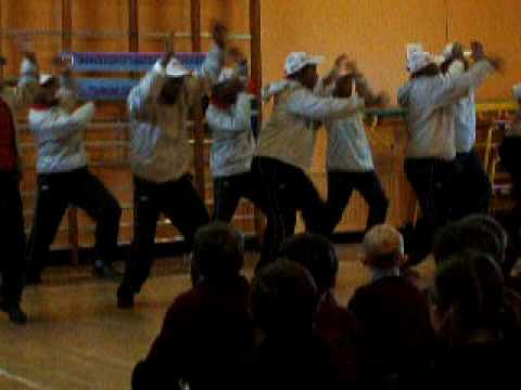 Lions of Zululand tribal dance