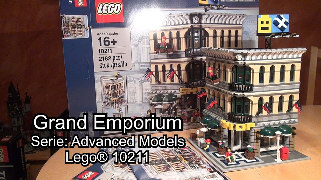 Klassiker Lego Grand Emporium Im Review Set 10211 Creator Advanced Youtube