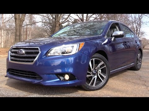 2017 Subaru Legacy 2.5i Sport: Road Test & In Depth Review