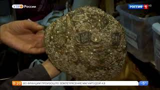 С. Безруков в сюжете программы Утро Росии. Съемки