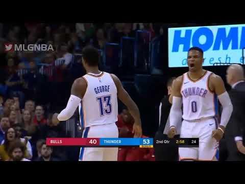 RESUMEN COMPLETO | Oklahoma City Thunder vs Chicago Bulls | Temporada NBA | 18-12-2018