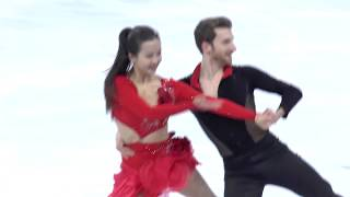 [2018 평창] ICE DANCE SD Practice - Yura Min & Gamelin Alexander @ PyeongChang Olympic 2018