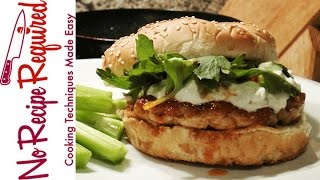 Buffalo Bills Spicy Buffalo Burger - Nfl Burgers - Noreciperequired.com