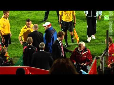 FC Oss fan valt scheidsrechter aan met scootmobiel