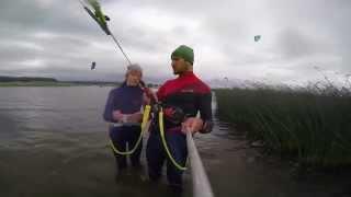 Kaitavimo pamoka su NATIVES, pirmosios dvi valandos vandenyje