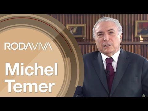 Roda Viva | Michel Temer | 14/11/2016