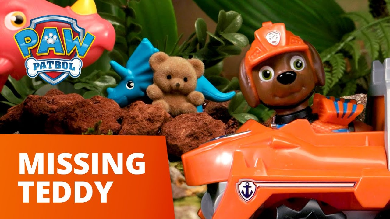 PAW Patrol | Pups Save a Lost Teddy Bear | Toy Episode | PAW Patrol Official & Friends
