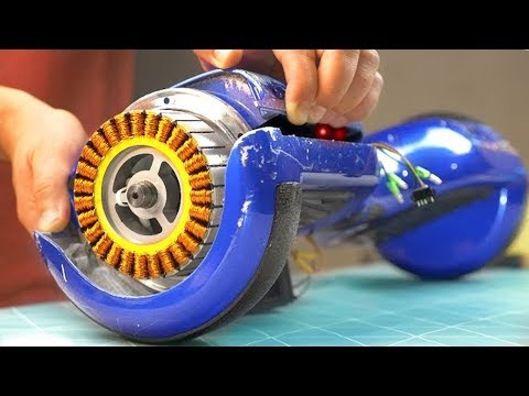 WHAT'S INSIDE OF GYROSCOOTER?