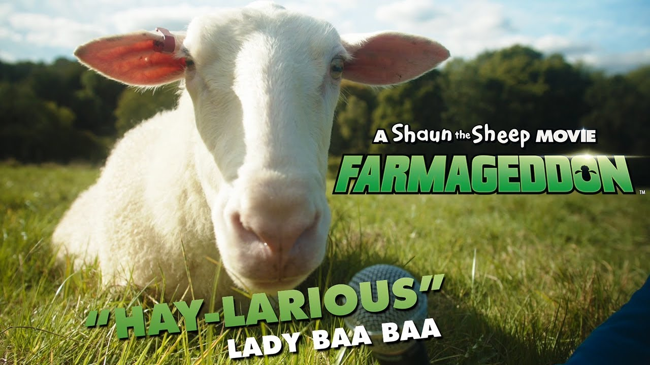 Worlds First Sheep Premiere! A Shaun the Sheep Movie: Farmageddon