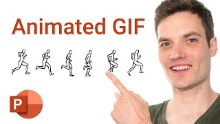 How to make Animated GIF using Microsoft PowerPoint