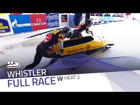 Whistler   BMW IBSF World Cup 2015/2016 - Women's Bobsleigh Heat 2   IBSF Official