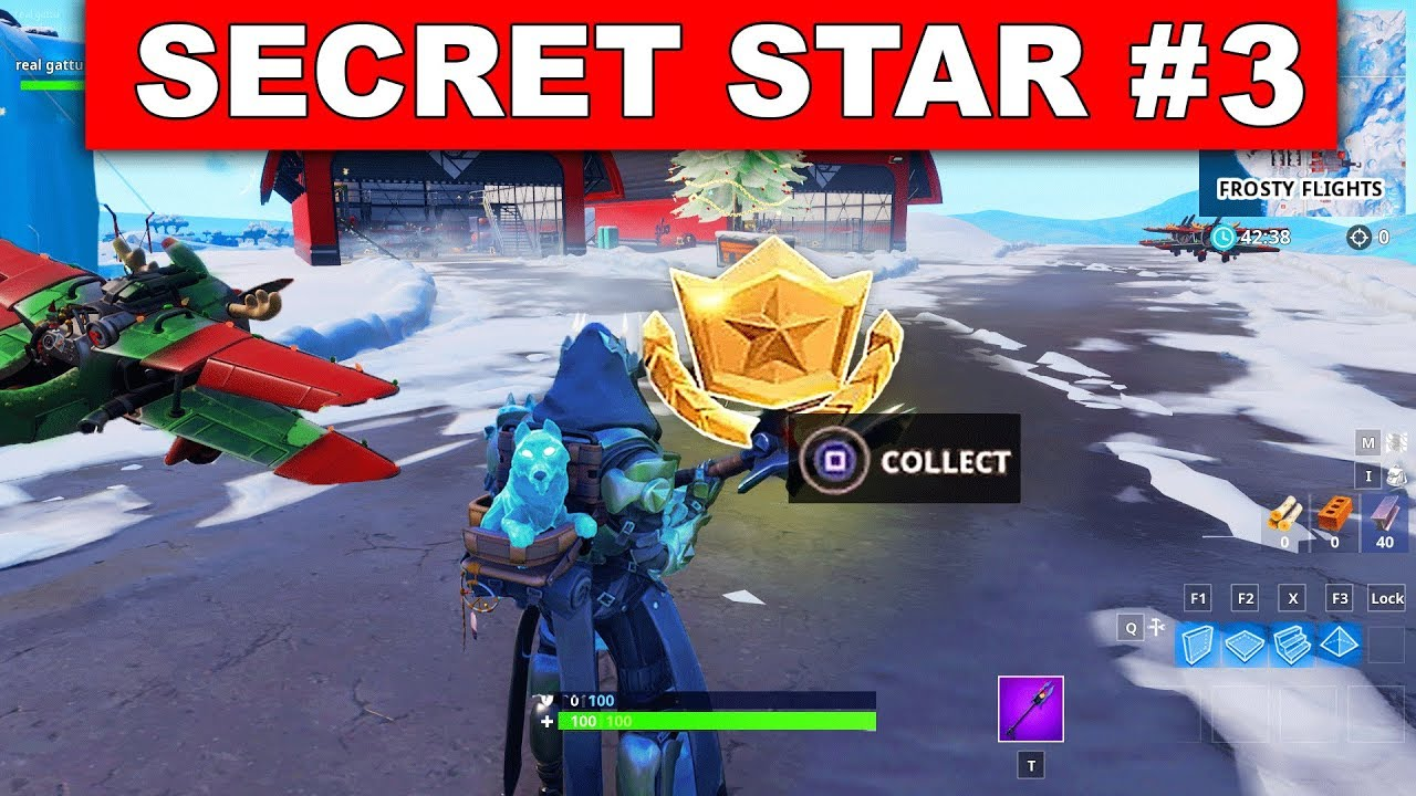 Secret Battle Star Week 3 Season 7 Location Fortnite Battle