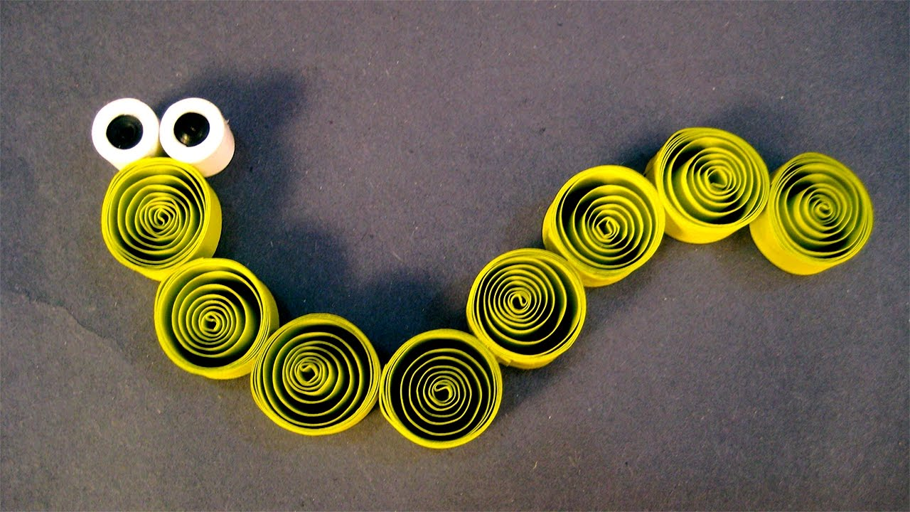 Paper Quilling Designs Paper Quilling Snake Scrapbook Ideas For