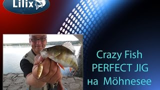 Crazy Fish PERFECT JIG на Möhnesee