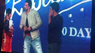 Puneeth Rajkumar and Kiccha Sudeep on Rajakumara 100 days celebration