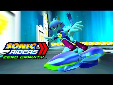 Sonic Riders Zero Gravity - Astral Babylon - Blaze 4K 60 FPS