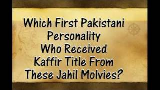 Who Was the first Pakistani Muslim Kaffir? Please watch and think