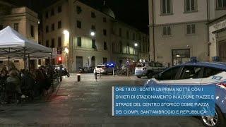Movida, a Firenze scatta il divieto di stazionamento in alcune piazze