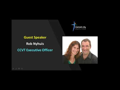 A new day - Guest speaker - Rob Nyhuis