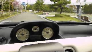 ランチア2代目イプシロン 試乗編 Lancia Ypsilon test drive at Kasai Rinkai Park