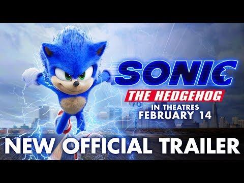 Sonic the Hedgehog trailers