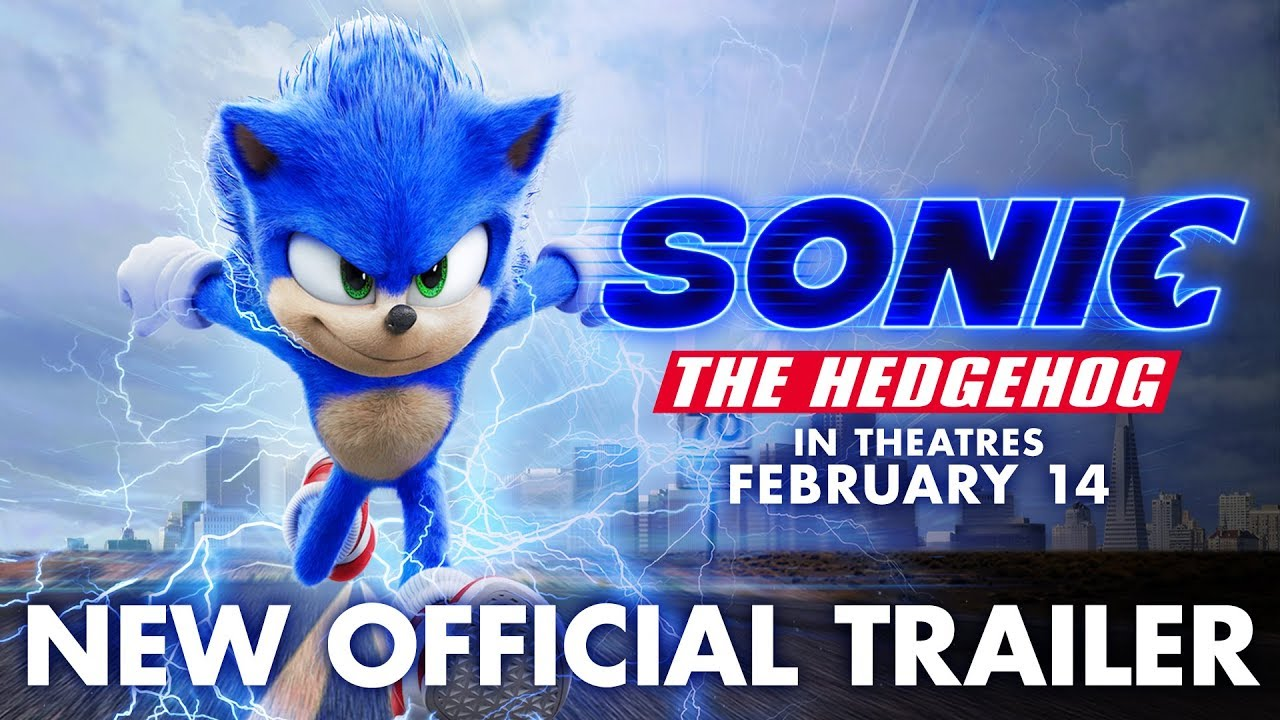 Sonic The Hedgehog 2020 New Official Trailer