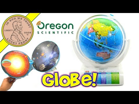 Oregon Scientific SmartGlobe Explorer World Globe - Augmented Reality