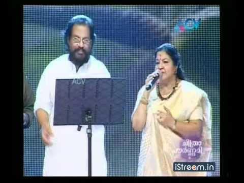 Chitrapournami: KJ Yesudas, Chitra sing 'Chandrikayil...'