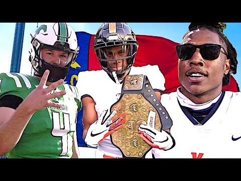 Straight 🔥🔥🔥 Vance  vs Myers Park | NC 4AA Western Region Championship | Action Packed Highlight Mix