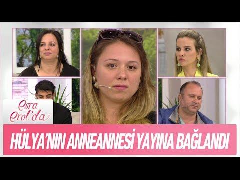 Hülya'nın anneannesi yayına bağlandı - Esra Erol'da 2 Mayıs 2018