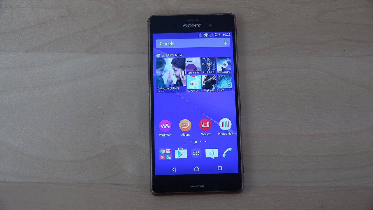 sony xperia z3 official android 5 0 2 lollipop review. Black Bedroom Furniture Sets. Home Design Ideas