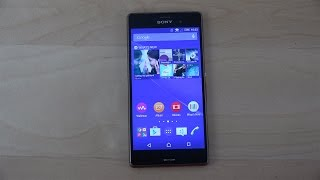 Sony Xperia Z3 Official Android 5.0.2 Lollipop - Review (4K)
