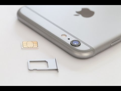 Iphone 6s Plus How To Insert Remove Sim Card