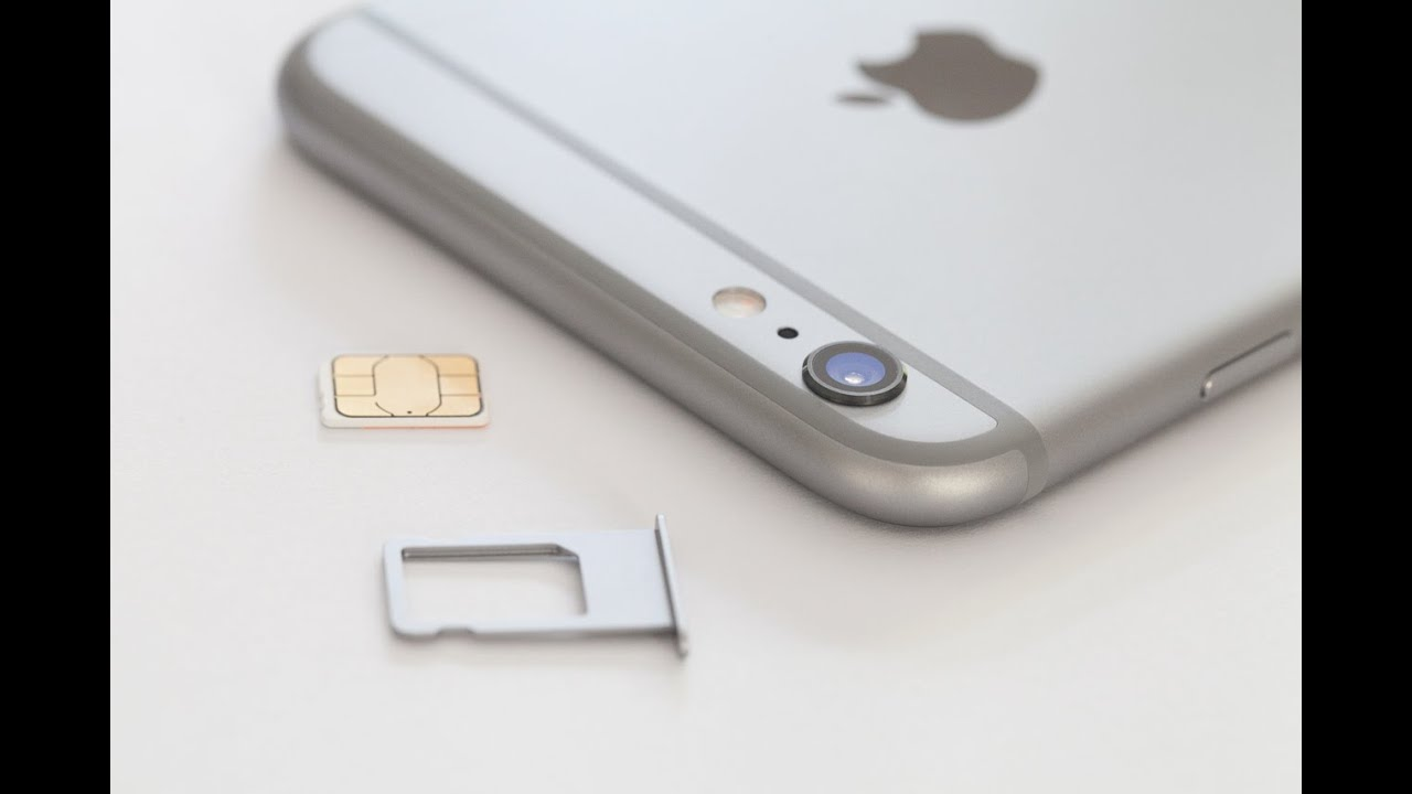 Iphone 6 6s Plus How To Insert Remove A Sim Card