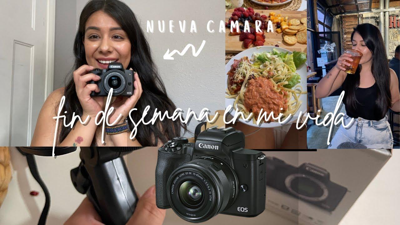 Mi Nueva Camara - Canon  Eos M50 +  Unboxing & Raw  Vlog   Un fin de Semana en mi vida