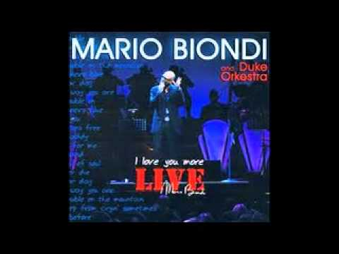 Mario Biondi - for Valeri - Hello Like Before - YouTube