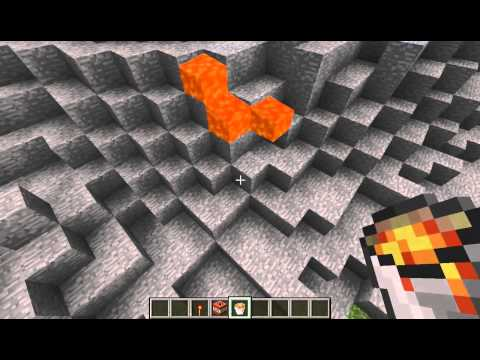 Minecraft Volcano Science Project