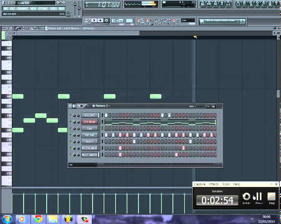 how to create a beat in fl studio