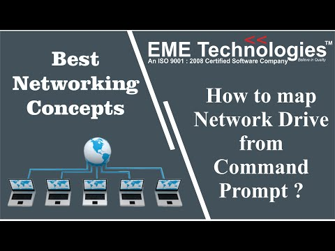 How To Map Network Drive From Command Prompt