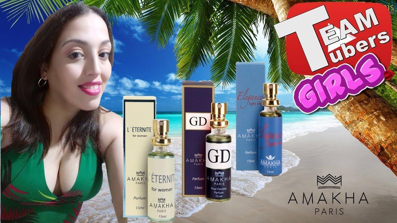 23837b42d Resenha - Perfumes L' Éternite, GD, Elegance, #Amakha, #Paris - YouTube